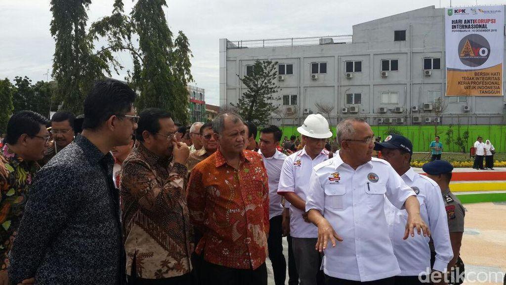 Canda Ketua KPK: Kalau Pejabat Riau Menyimpang, Ajak ke Taman Ini Saja