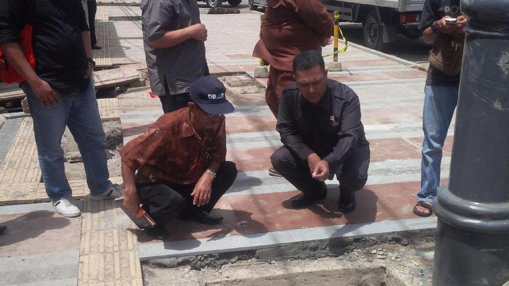 Begini Penjelasan Pemkot Bandung Soal Pelebaran Trotoar Jalan Sudirman