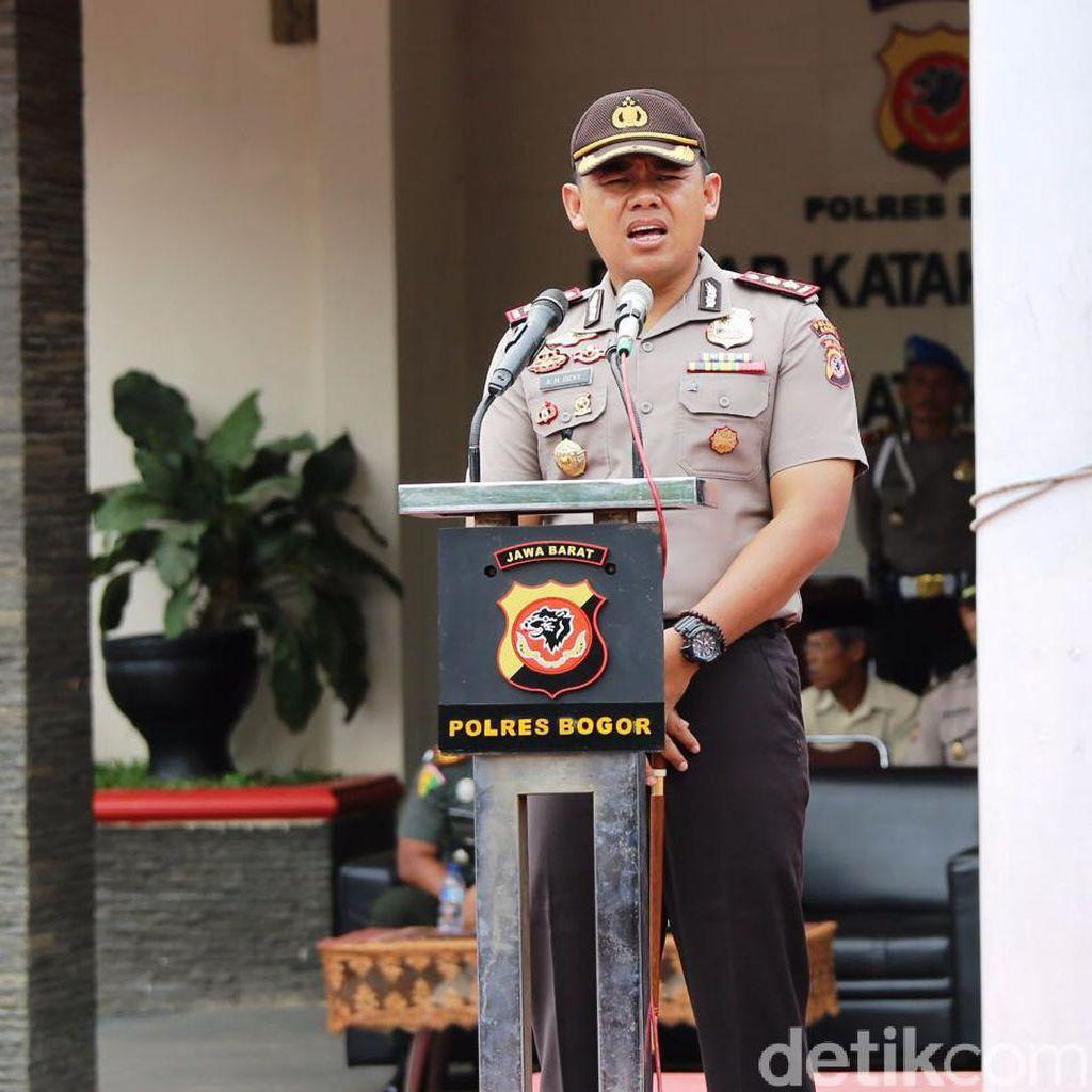 Libur Panjang, Polres Bogor Terjunkan Ratusan Personel di Kawasan Puncak