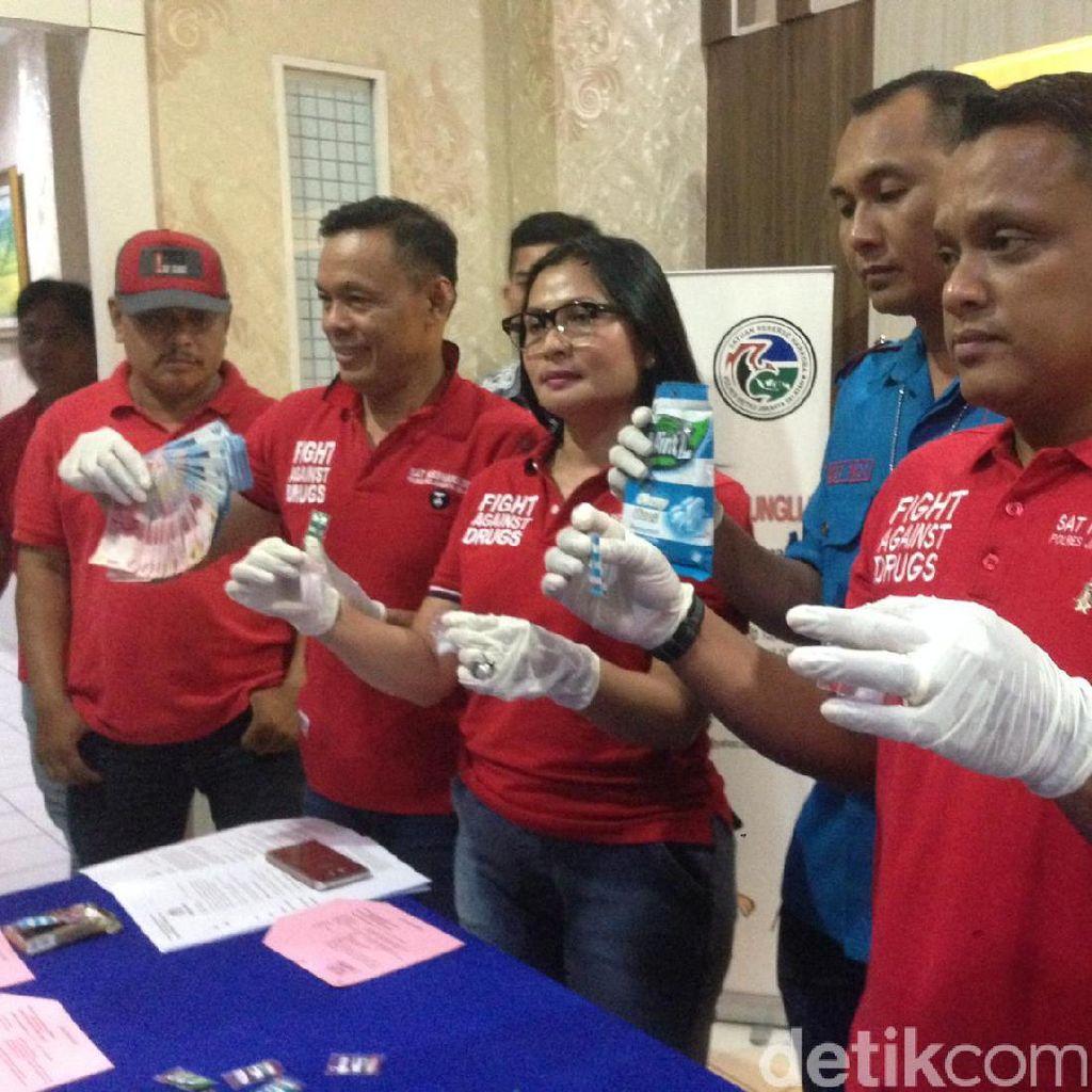 Polisi Tangkap 2 Pengedar Sabu Jaringan Lapas Cipinang