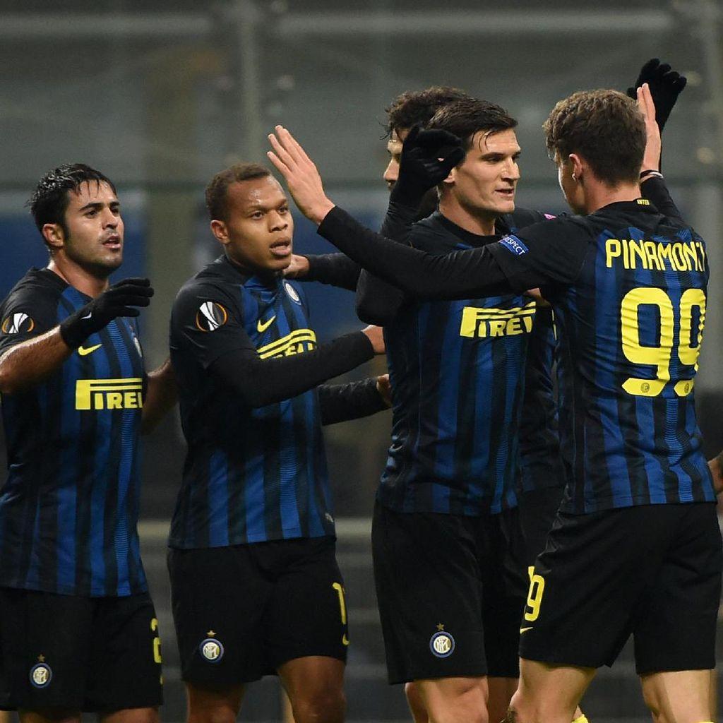 Kemenangan atas Sparta Praha Dongkrak Kepercayaan Diri Inter