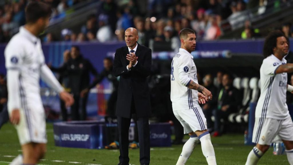 Zidane dan Madrid Ingin Buat Sejarah di Jepang