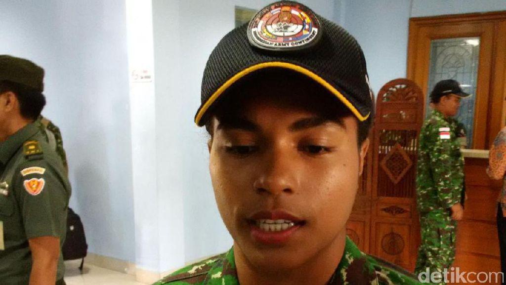 Ini Sersan Dua Carleli, Wanita Peraih 4 Medali Lomba Tembak Tingkat ASEAN