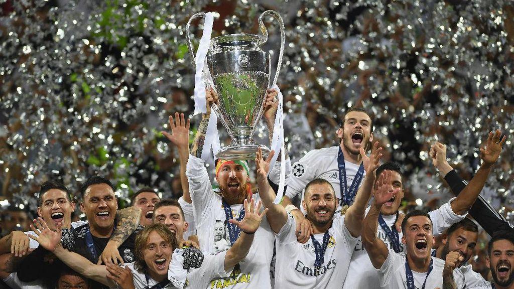 Madrid dan Tantangan Mempertahankan Gelar Juara Liga Champions