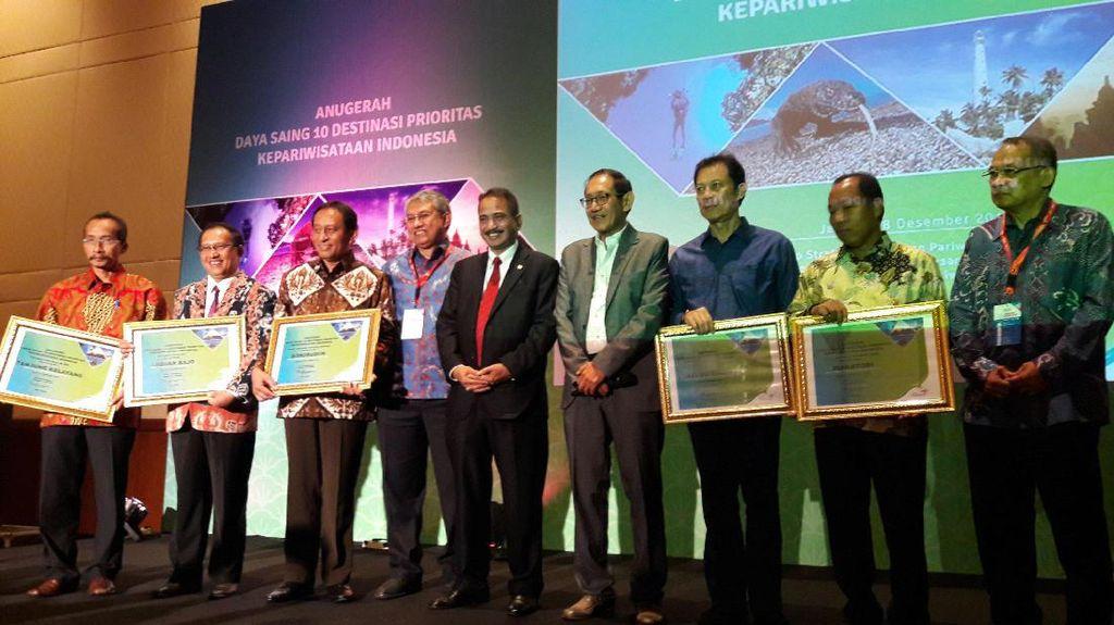 Borobudur Jadi Destinasi Berdaya Saing Tertinggi di Indonesia