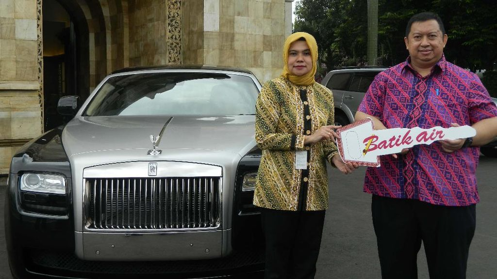 Tidak Ada yang Klaim, Batik Air Kirim Hadiah Rolls-Royce ke Kemensos