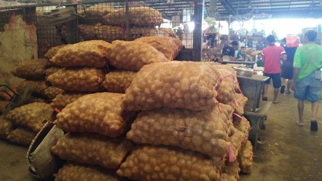 Pedagang: Kentang Impor dari Pakistan Lebih Laris Dibandingkan Lokal