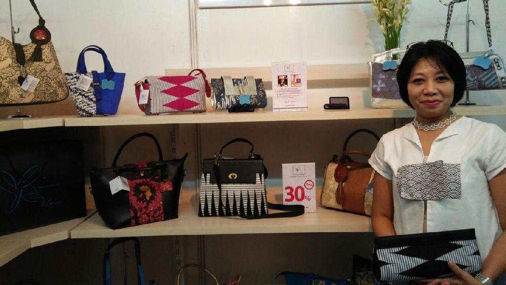 Bermodal Kreativitas, Wanita Ini Sukses Bisnis Tas Unik Kombinasi Batik dan Kulit