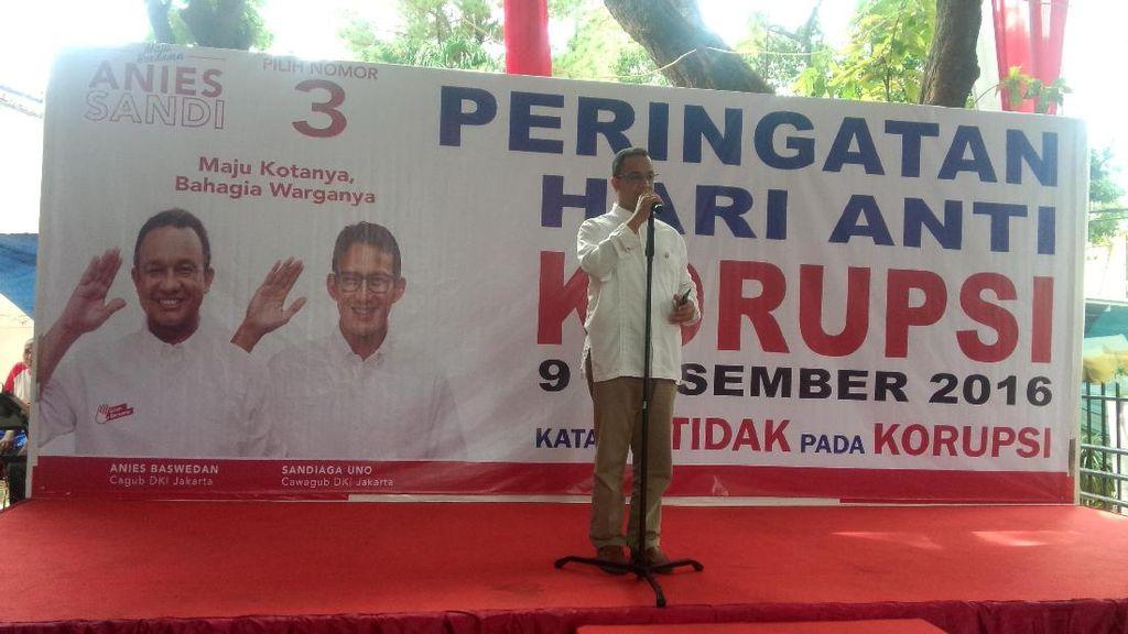 Anies Paparkan Langkah Pencegahan Korupsi Sejak Jadi Mendikbud