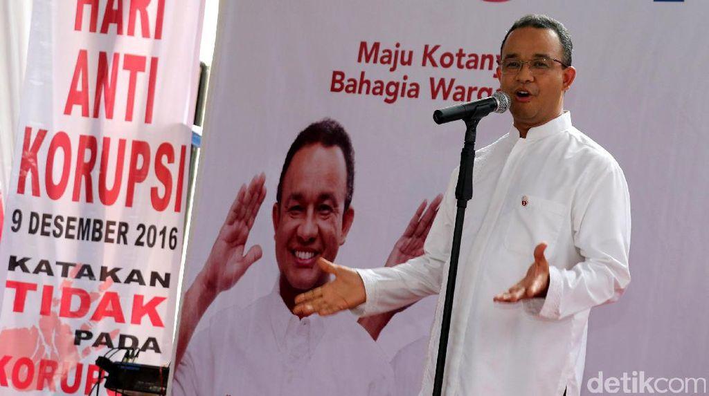 Sumbang Rp 400 Juta untuk Kampanye, Anies: Saya Mampunya Segitu