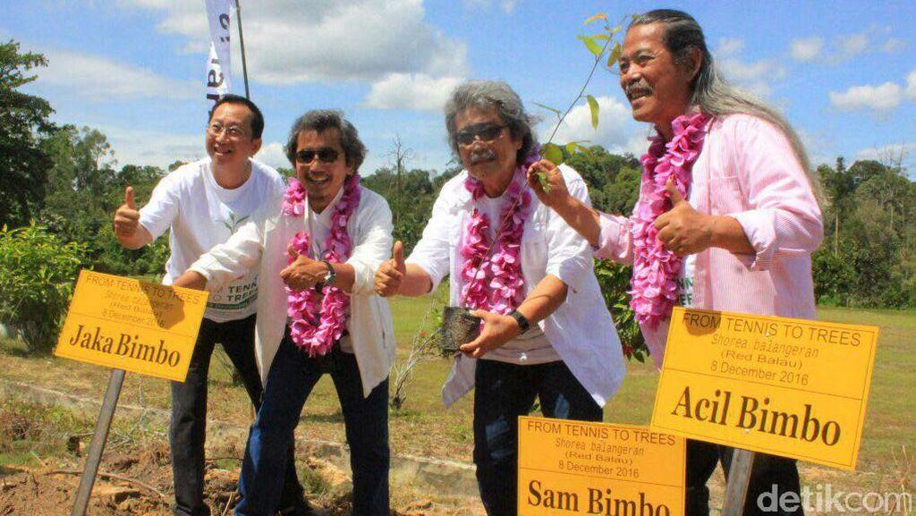 Grup Bimbo Tanam Pohon di Lanskap Cagar Biosfer di Riau