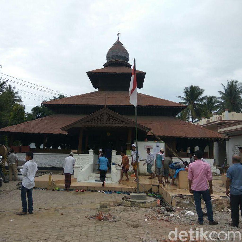 Gempa Susulan di Pidie Jaya Saat Salat Jumat Berkekuatan 4,1 SR