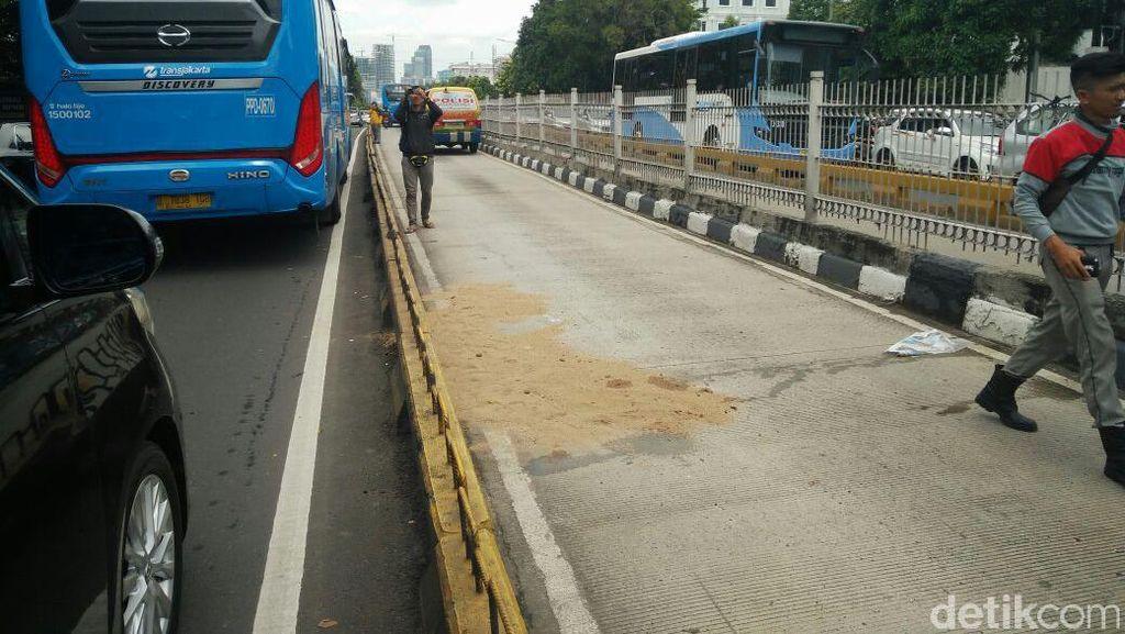 Penjelasan TransJ Terkait Kecelakaan yang Tewaskan Pejalan Kaki di Mampang