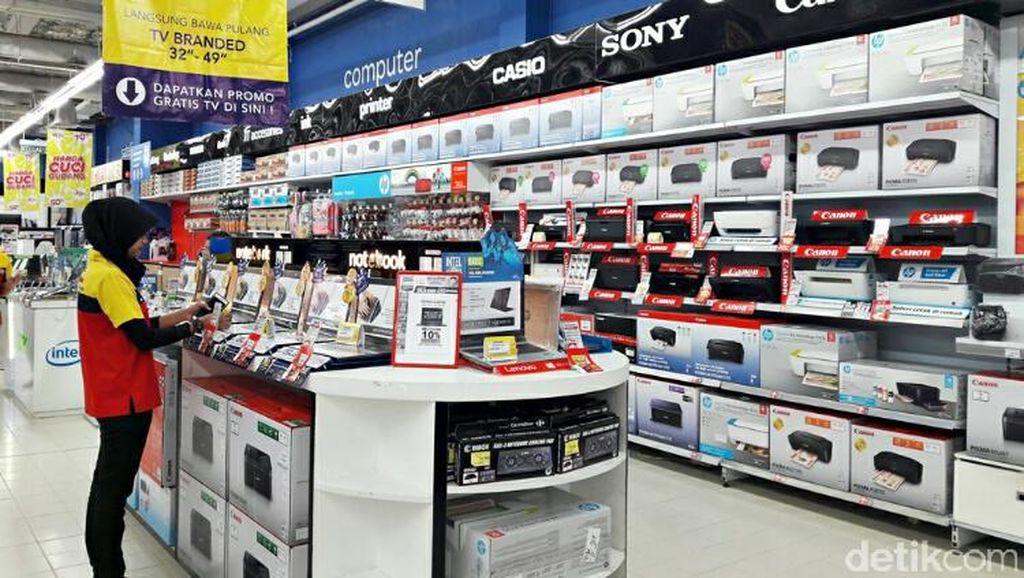 Transmart Carrefour Gelar Diskon 10% Laptop Asus, Acer, Lenovo, dan HP