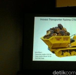 IPB Bikin Kendaraan Khusus Kelapa Sawit, Mampu Angkut 15 Ton per Hari