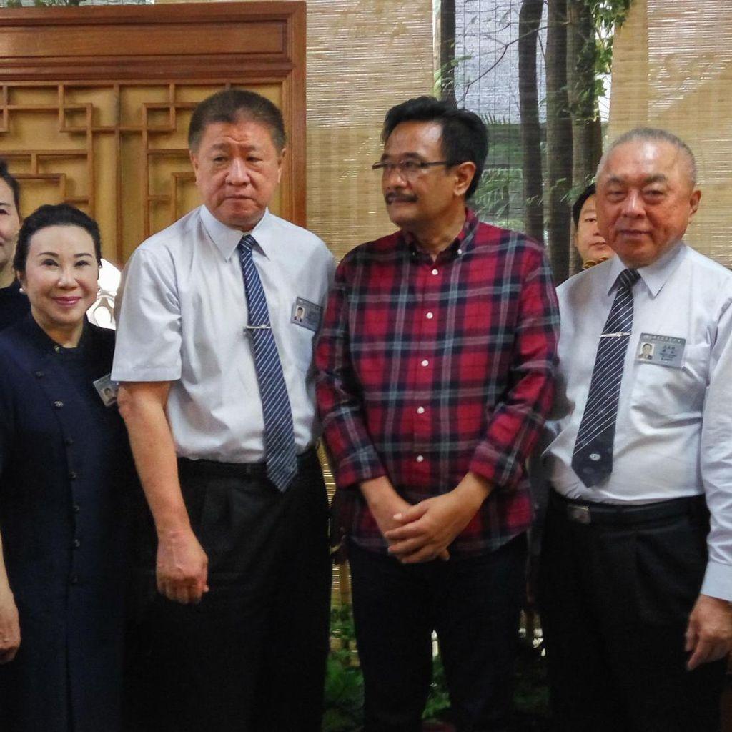 Djarot Hadiri Pembukaan Baksos Budha Tzu Chi untuk Galang Pembangunan RS