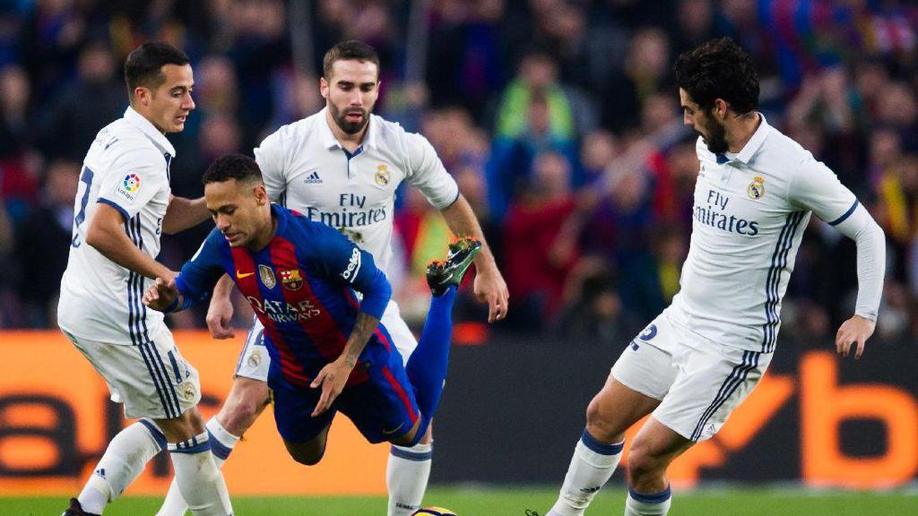 Neymar kepada Madrid: Pemimpin Klasemen Tak Pernah Bisa Tenang