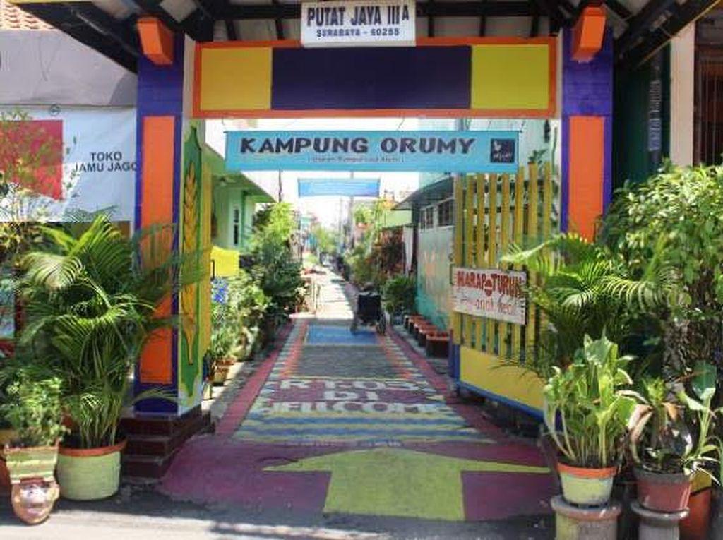 Dulu Wisma Esek-esek, Kini Kampung di Eks Dolly Mulai Berwarna