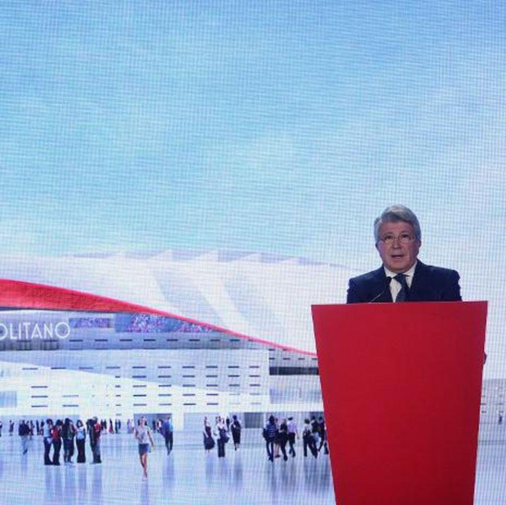 Wanda Metropolitano, Nama Stadion Baru Atletico