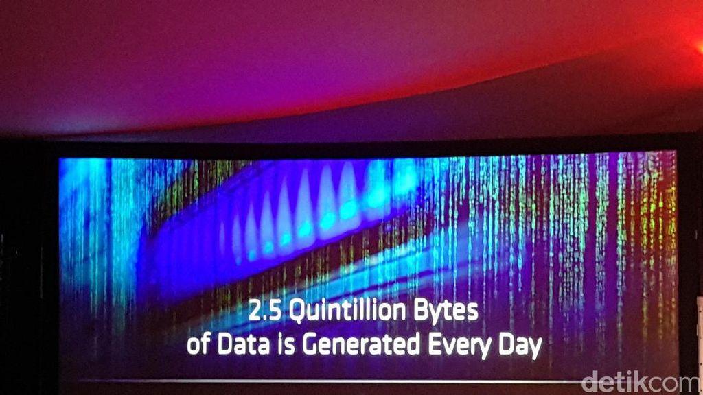 Cuma Sehari, 2,5 Quintillion Byte Tercipta di Seluruh Dunia
