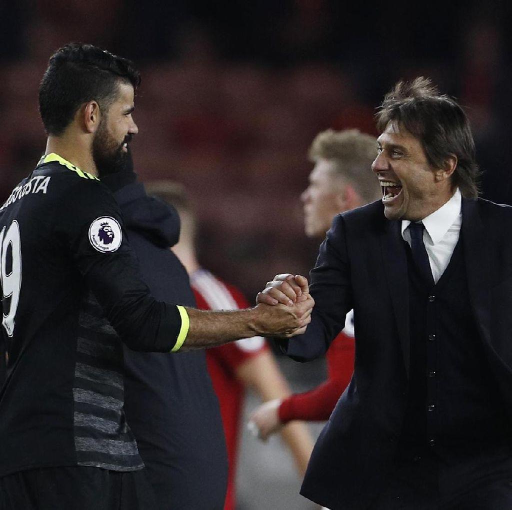 Costa dan Conte yang Terbaik di Bulan November