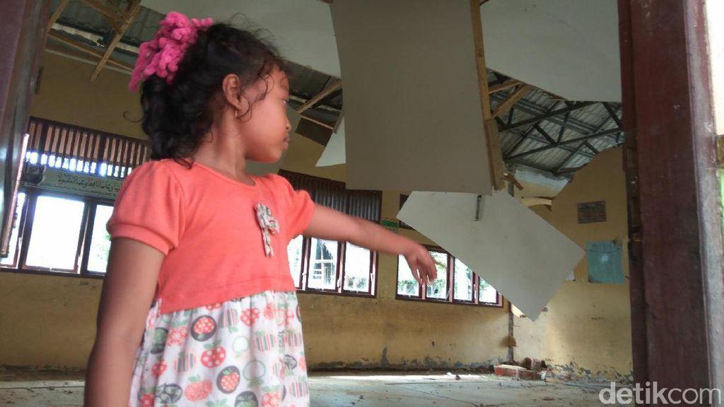 Madrasah Paru Pidie Jaya Rusak Total, Sekolah Diliburkan Sementara