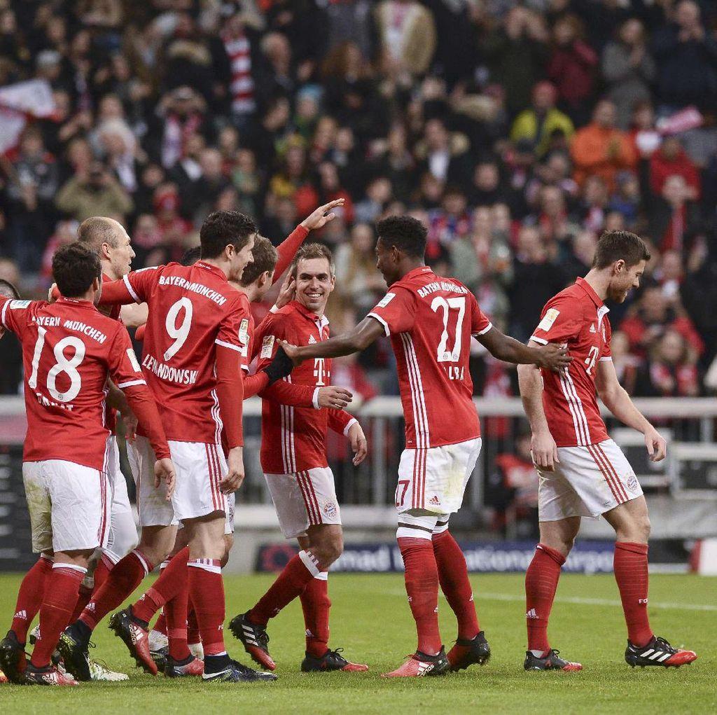 Gilas Wolfsburg 5-0, Bayern Rebut Puncak Klasemen