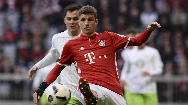 Mueller Kesal dengan Perdebatan soal Posisinya di Bayern