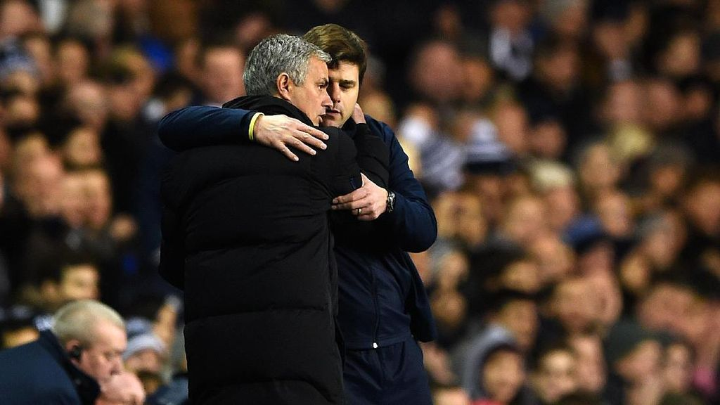 Mourinho Tetap The Special One di Mata Pochettino