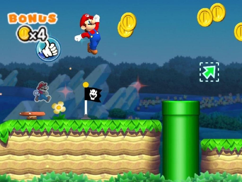 Capai 50 Juta Download, Super Mario Run Bagi-bagi Tiket Gratis