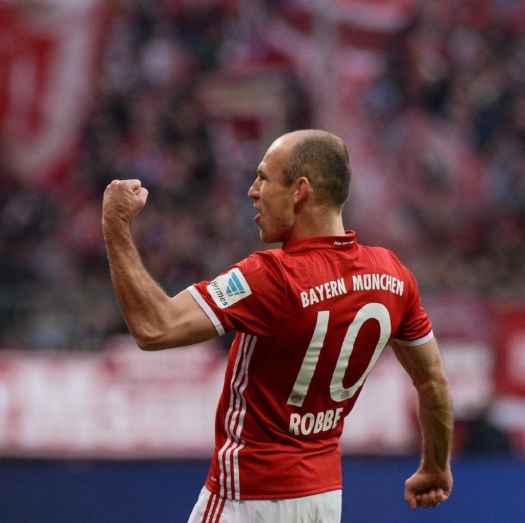 Robben Tak Pernah Berpikir untuk Tinggalkan Bayern