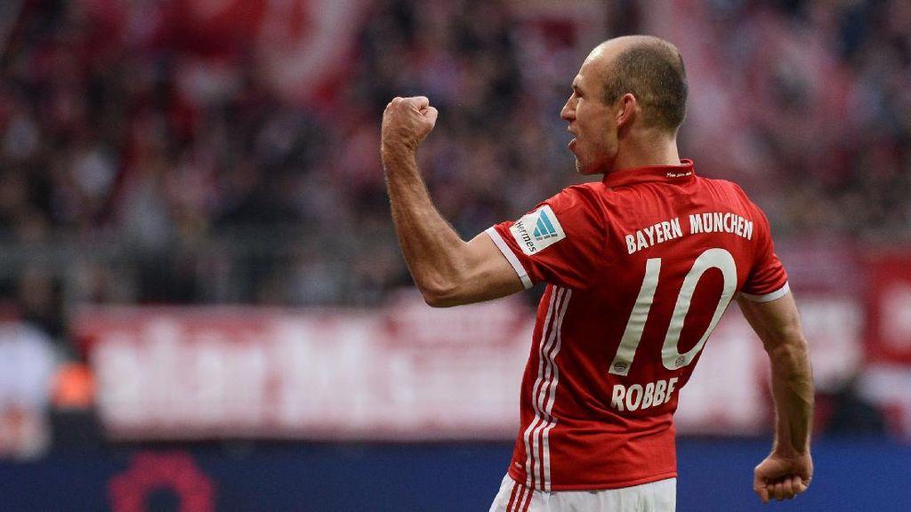 Bayern Tambah Kontrak Robben