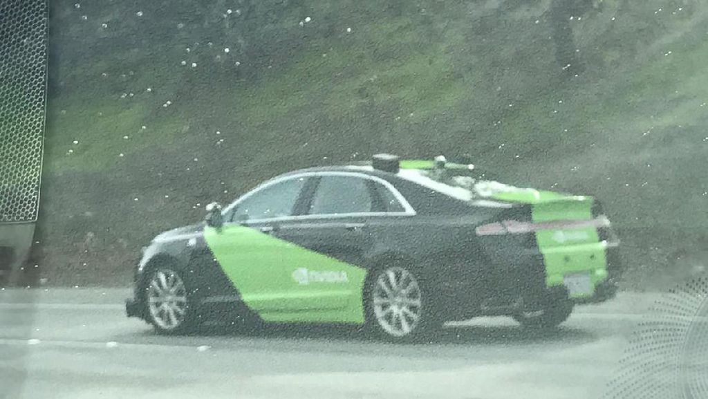 Kantungi Izin, Mobil Otonom Nvidia Diuji di Jalan Raya