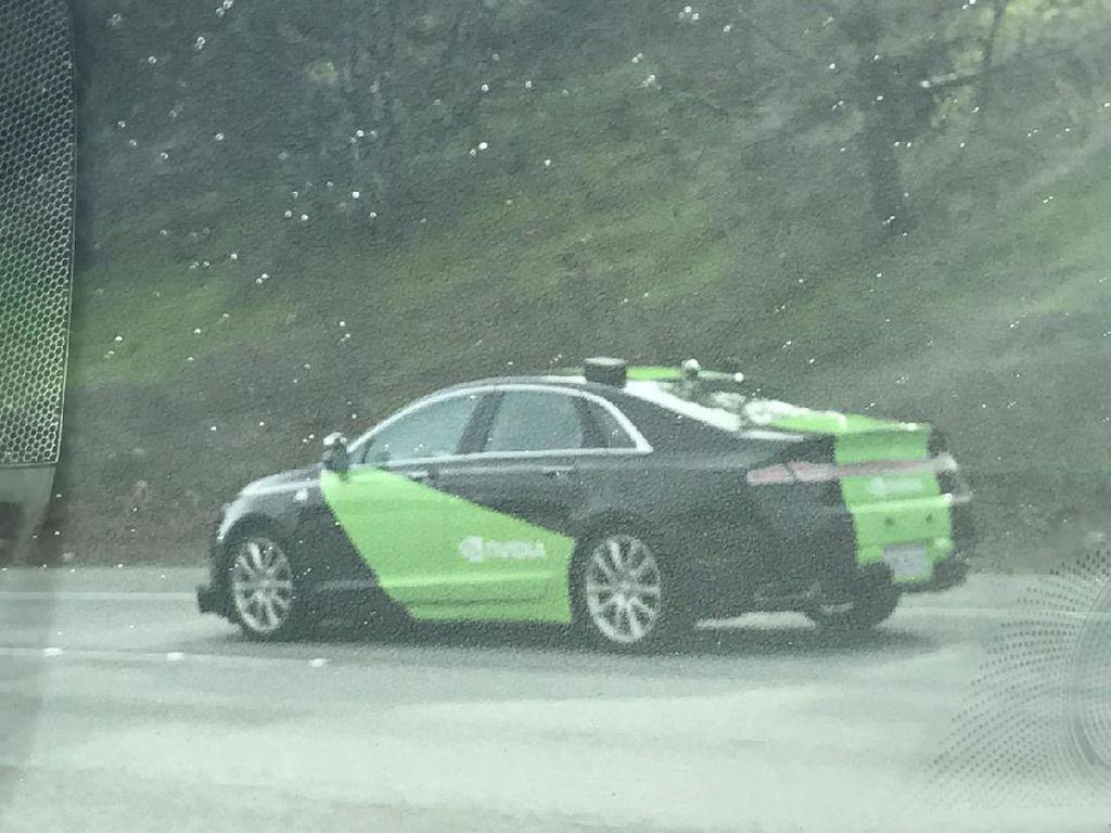 Gara-gara Uber, Nvidia Setop Uji Mobil Otonom