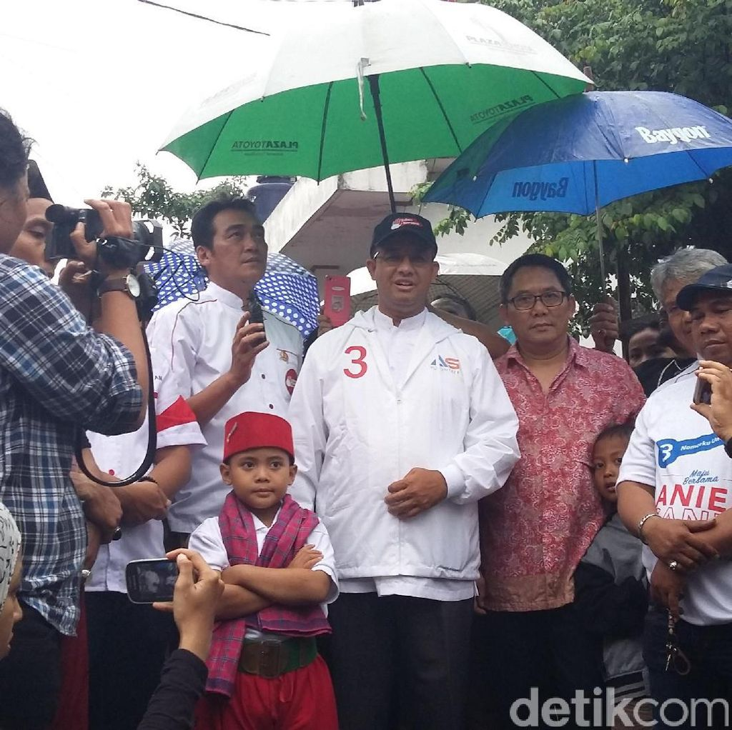 Anies Ingin di Jakarta Warga Miskin Bisa Bersaing dengan Warga Makmur