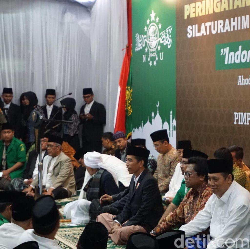 Usai Bertemu Jokowi, Para Kiai Ajak Masyarakat Perbarui Semangat Kebersamaan