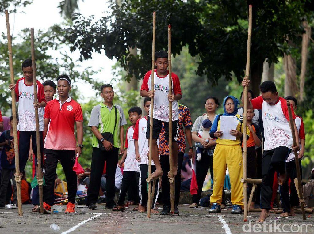 Nostalgia di Festival Permainan Tradisional Indonesia