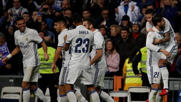 Menang Dramatis atas Deportivo, Madrid Kembali Jauhi Barca
