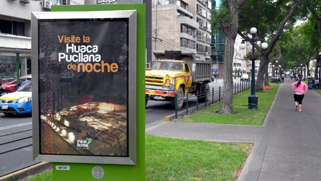 Hati-hati Kalau Jalan Kaki di Ibu Kota Peru, Banyak Ranjau