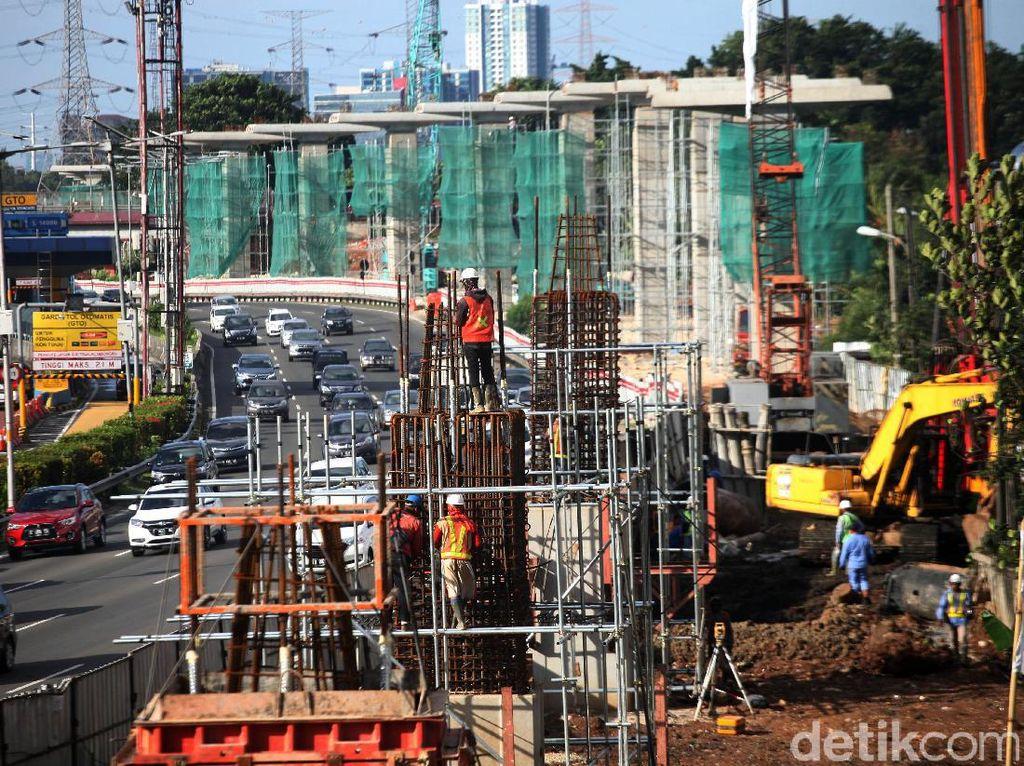 Hunian Nempel Stasiun di LRT Ciracas Mulai Dibangun Juli