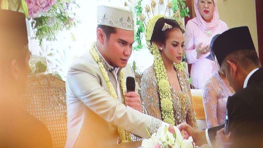 Sah! Acha Septriasa Menikah dengan Vicky Kharisma