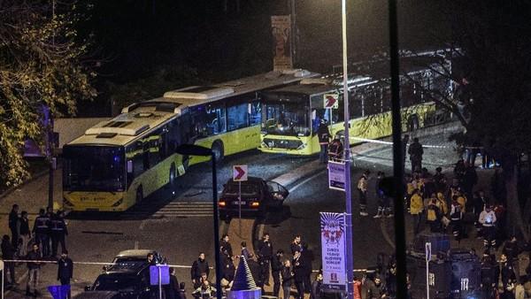 20 Orang yang Terluka karena Bom Mobil Dekat Stadion Besiktas Adalah Polisi