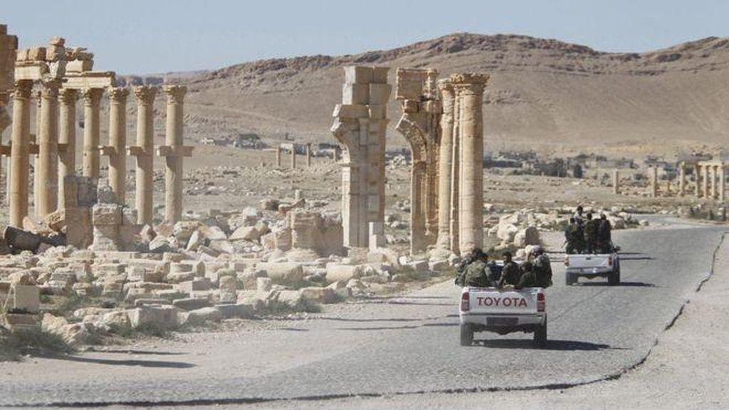 Militan ISIS Kembali Dipukul Mundur dari Palmyra