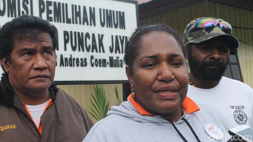 403 TPS di Puncak Jaya Papua Masih Gunakan Sistem Noken