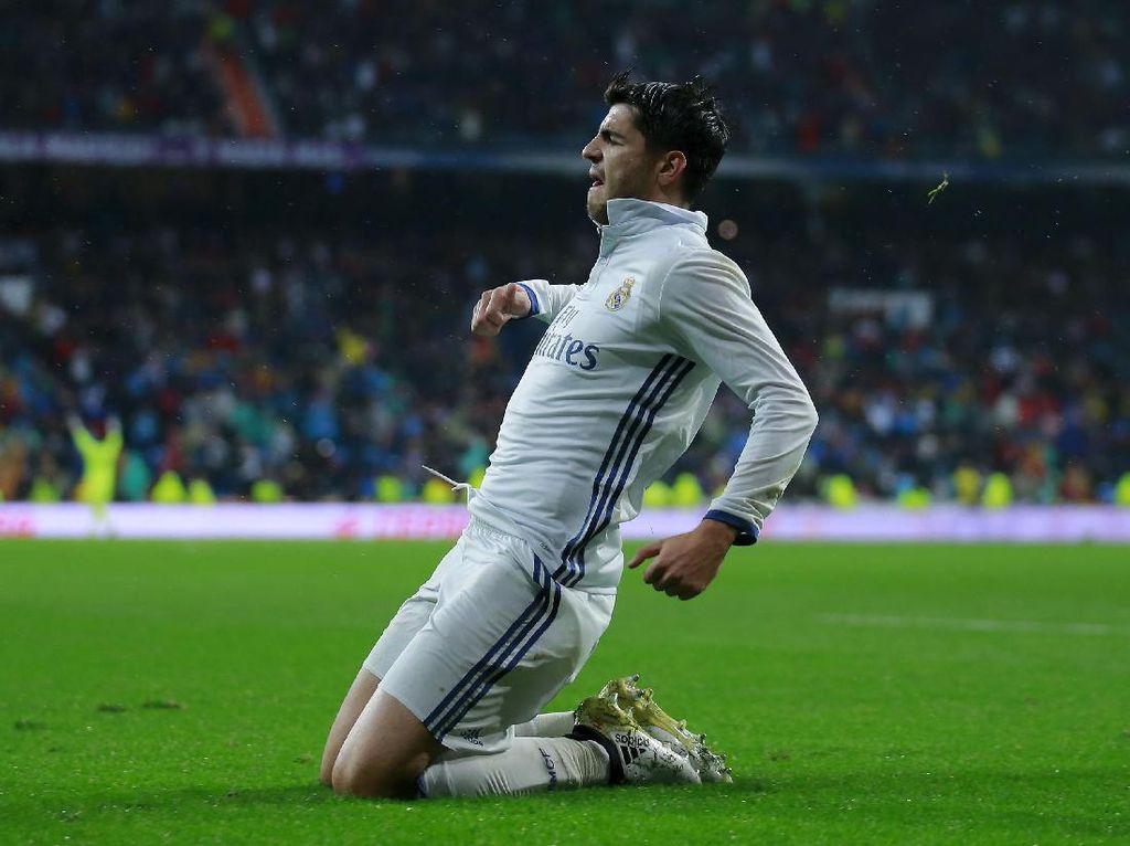 Chelsea-Madrid Sepakati Transfer Morata