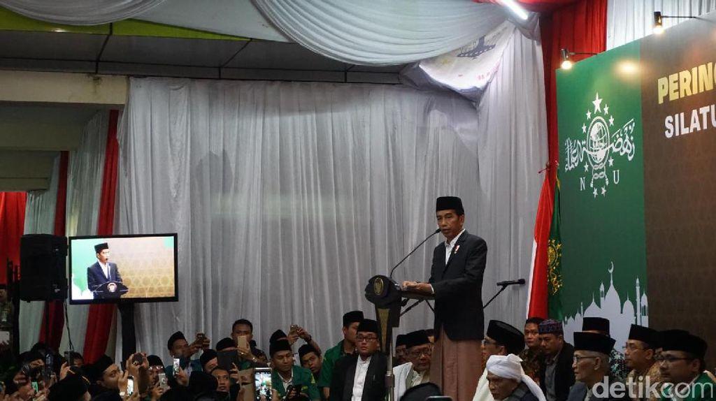 Jokowi Apresiasi Kerja Densus 88 yang Gagalkan Rencana Aksi Terorisme