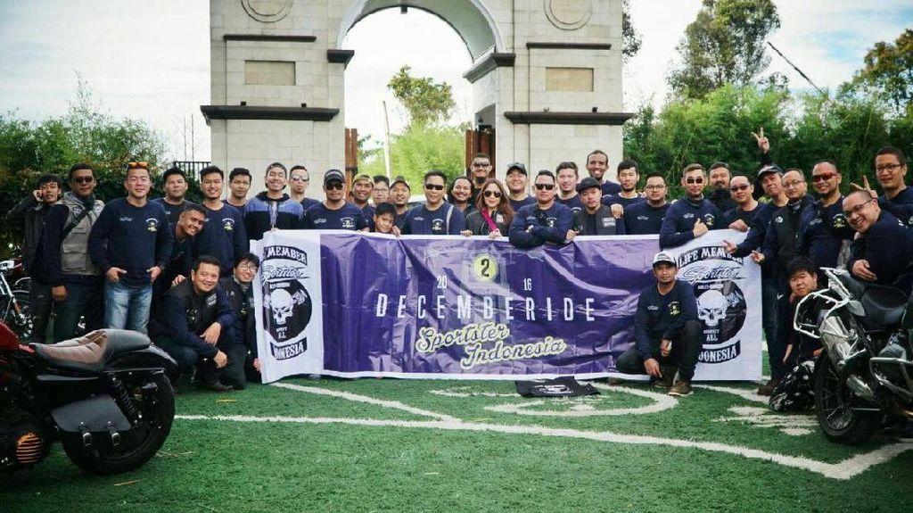 Komunitas Sportster Indonesia Turing ke Lembang