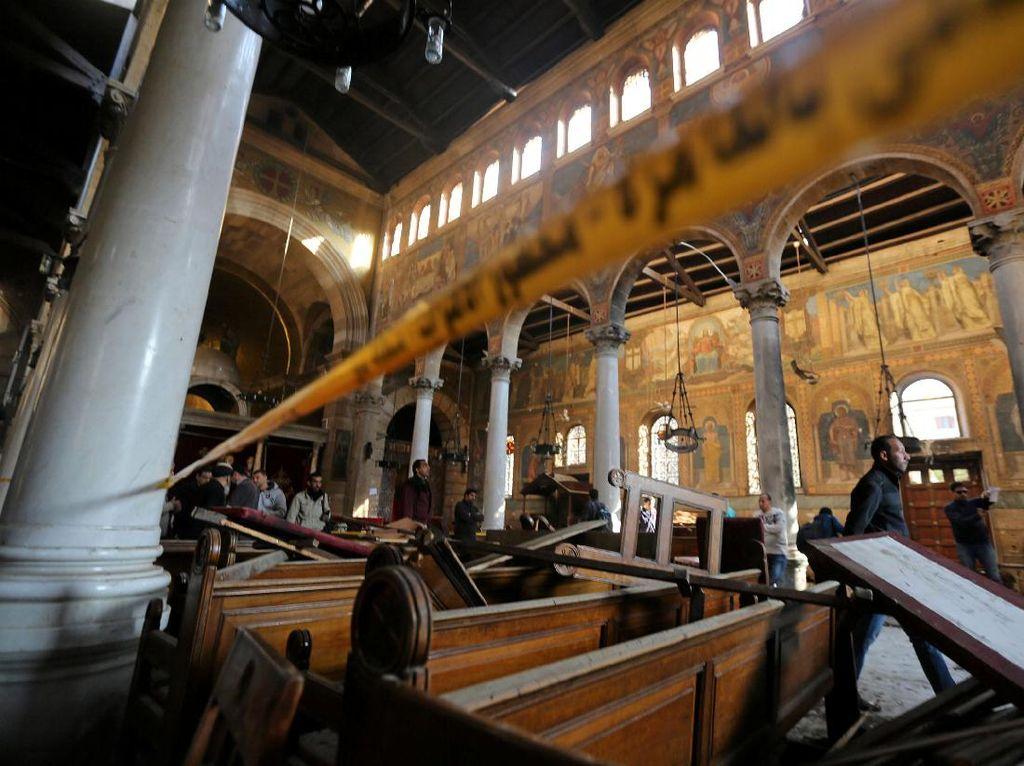 Bom Guncang Gereja Koptik di Kairo, 25 Orang Tewas