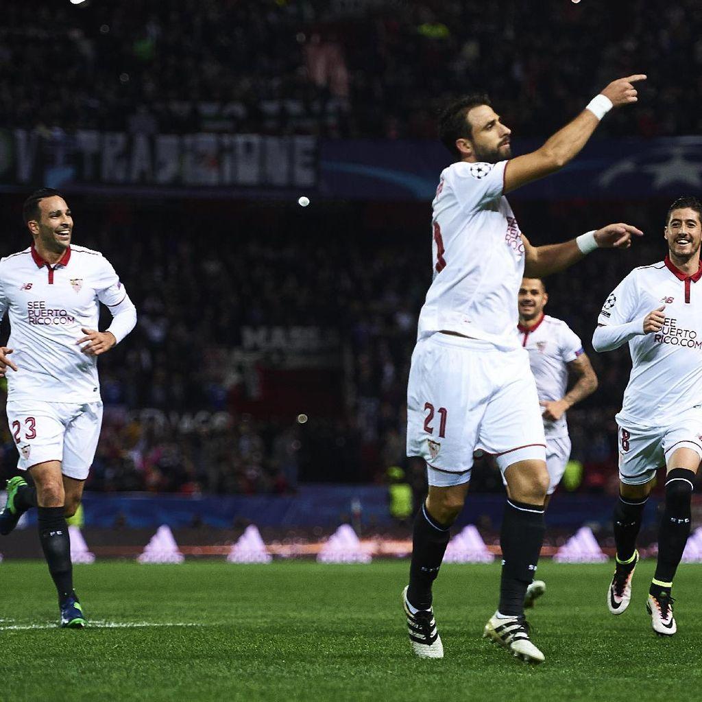 Sevilla Merasa Punya Peluang Lolos meski Enggan Sepelekan Leicester