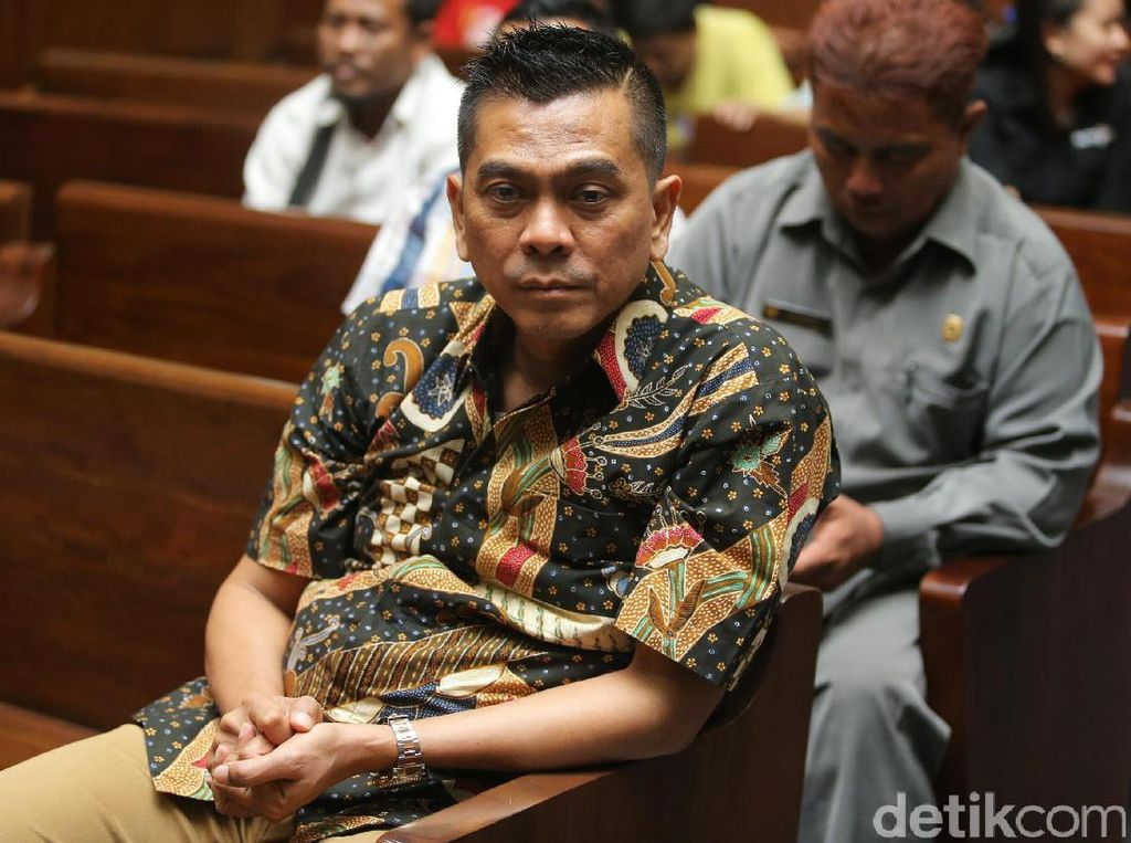 Sanusi Dituntut 10 Tahun Penjara